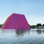 Christo & Jeanne-Claude, still for The London Mastaba AR (Hyde Park), 2020. Courtesy of Acute Art. FAD MAGAZINE