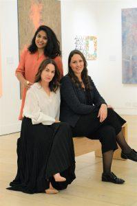 Core Team Portrait Saras Rachupalli Camilla Grimaldi Averil Curci Kovet.art FAD MAGAZINE