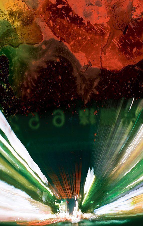Crash JG Ballard by  Stanley Donwood