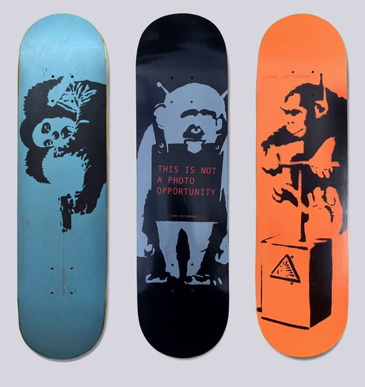 Clown Skateboards are back