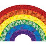 FAD MAGAZINE Damien Hirst creates rainbow for the NHS