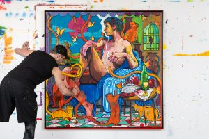 Canadian-British artist Andrew Salgado FAD magazine