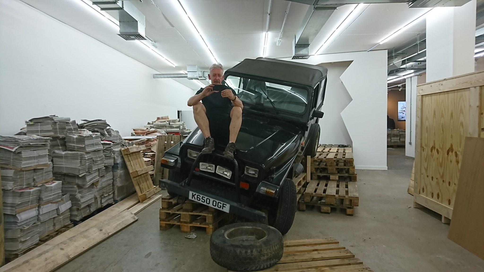 DAVID MACH INCOMING Solo exhibition