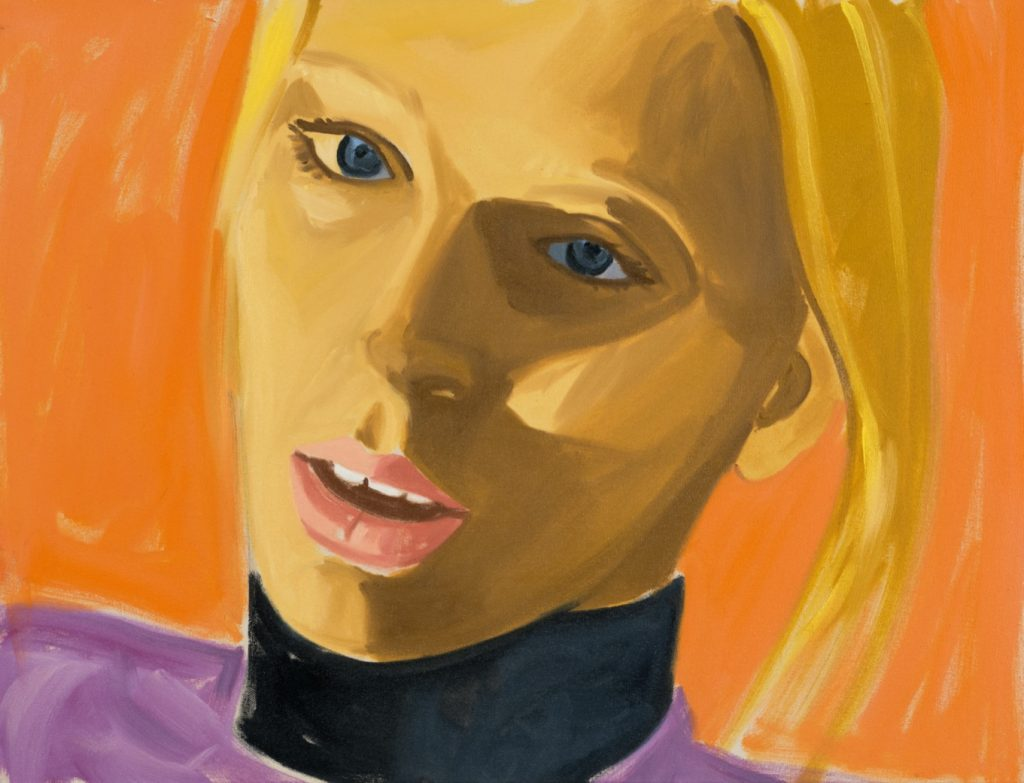 David Salle Lili 1, 2019 oil on canvas