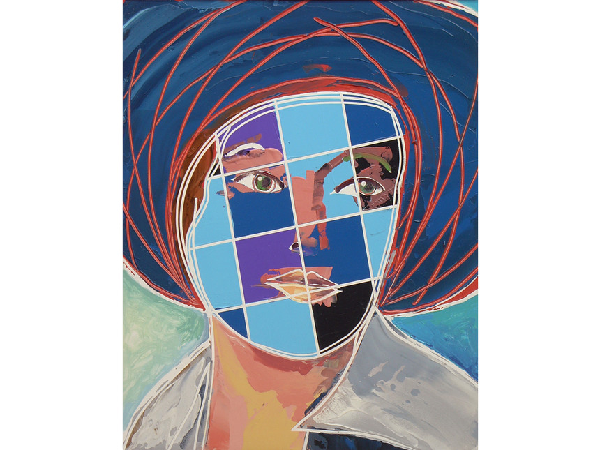 David-Ben-White-The-Personification-of-an-Ideal-Margarete-2014-Mixed-media-51-x-41-cm-c-David