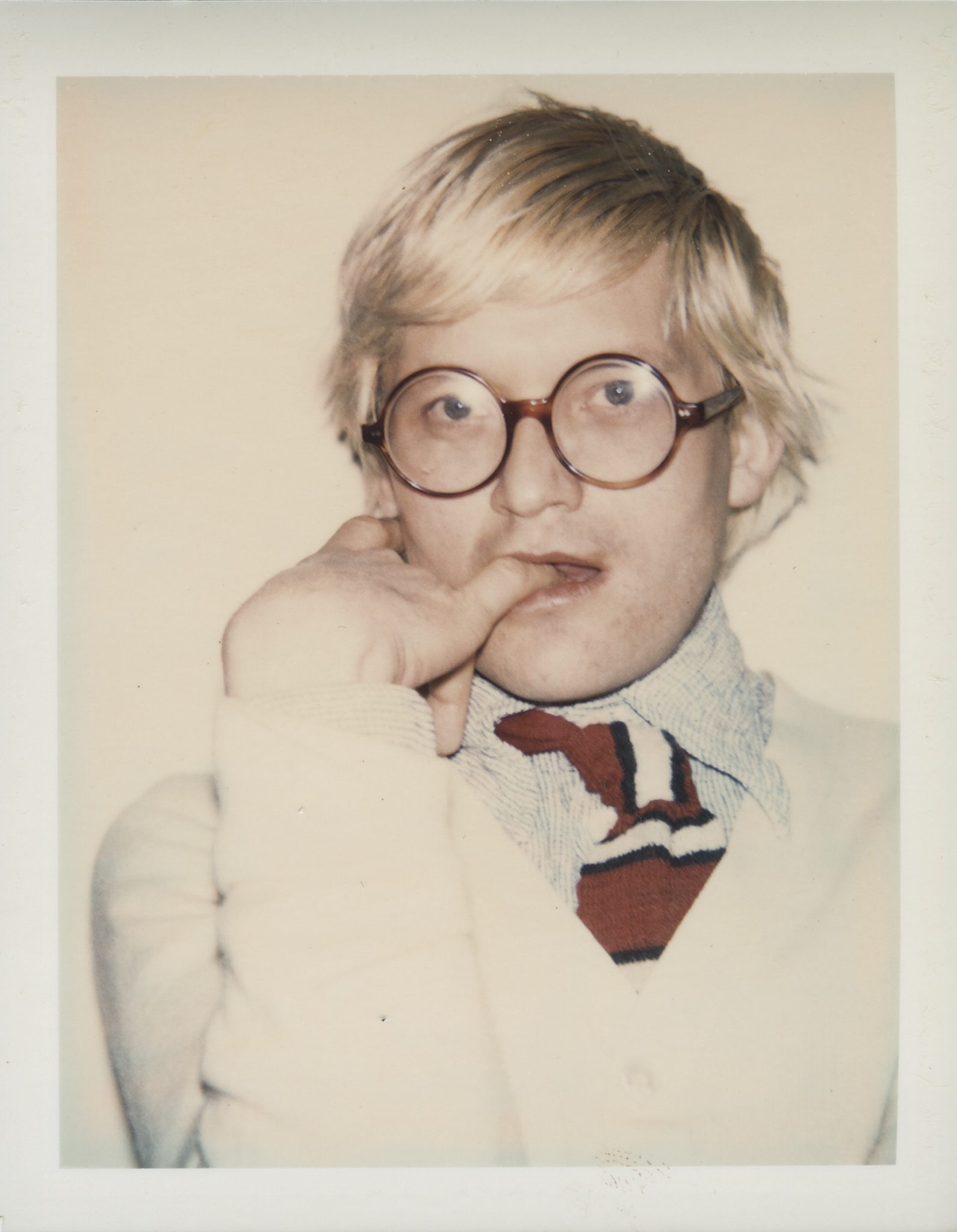 Andy Warhol David Hockney, 1973