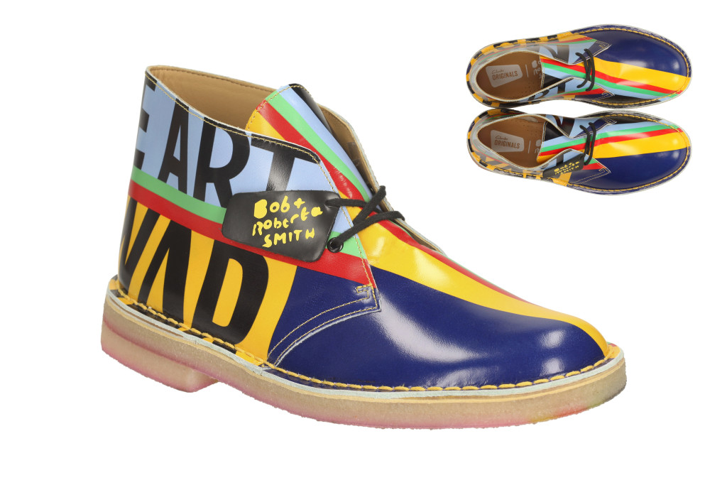 Bob and Roberta Smith Clarks Desert Boot