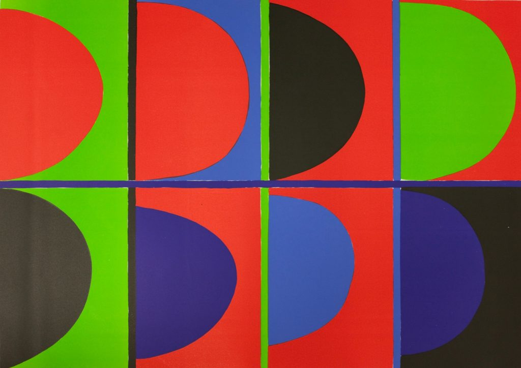 Terry Frost RA, Red, Blue, Green FAD Magazine