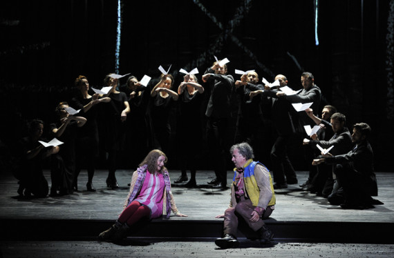 ENO The Magic Flute - Soraya Mafi, Peter Coleman-Wright, Company (c) Robbie Jack