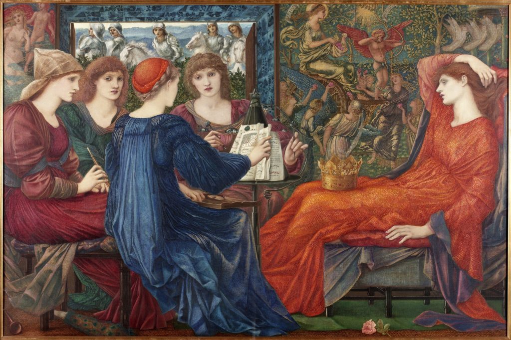 Laus Veneris, c.1873-75 (oil on canvas) by Burne-Jones, Edward Coley (1833-98); 122.5x183.3 cm; Laing Art Gallery, Newcastle-upon-Tyne, UK;  © Tyne & Wear Archives & Museums; English.