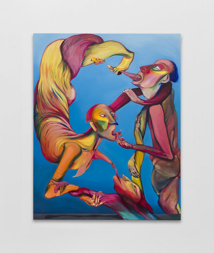 Emma CousinThe Voices of Dinosaurs, 2021Oil on canvas.190 x 170 cm
