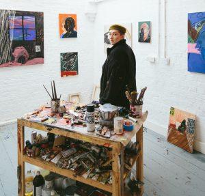 Emma Fineman, Studio Portrait, 2019