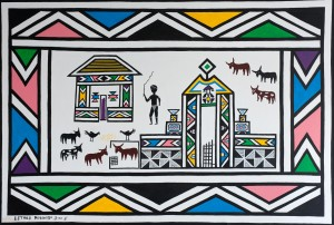 Esther Mahlangu _Gateway_ 2005_Small