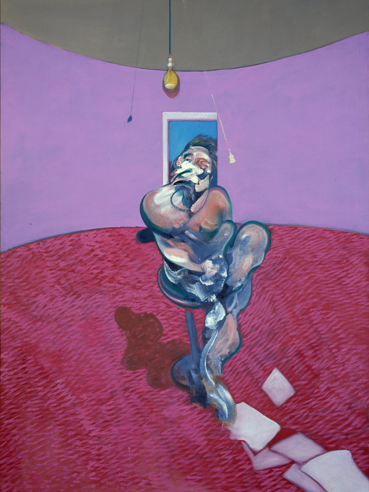 Francis Bacon, Portrait of George Dyer Talking (1966). Christie's