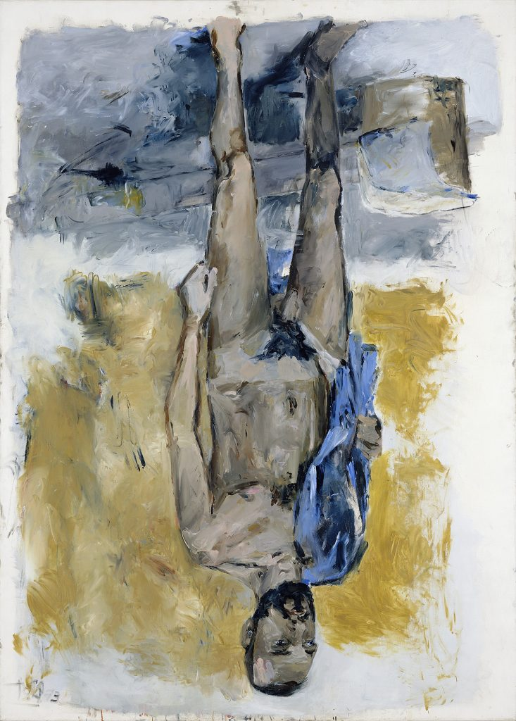 Georg BaselitzFingermalerei -Akt (Finger Painting –Nude), 1973Oil on canvas251 x 180 cmGeorg Baselitz Treuhandstiftung© Georg BaselitzPhoto: Jochen Littkemann, Berlin