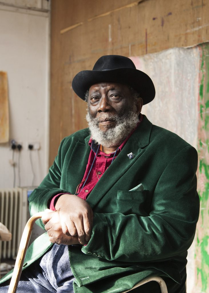 Frank Bowling portrait (c) Alastair Levy