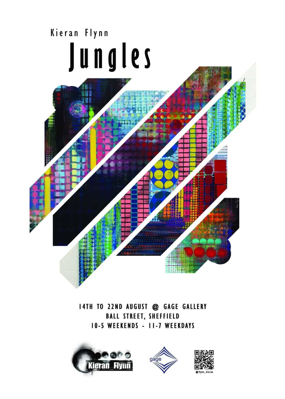 Flyer for Kieran Flynn Jungles