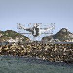 GIANTS, Cleuson LIMA DO ROSARIO from Brazil, Barra da Tijuca, from the beach, © Comite? international Olympique, Rio de Janeiro, Brazil, 2016 FAD Magazine