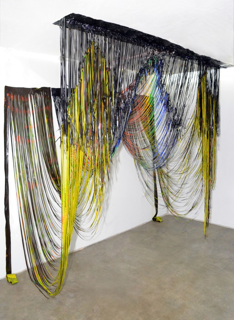 Gabb Jonathan 04 UV acrylic paint mixed media w200cm x h200cm x d110cm 2011 751x1024 Jonathan Gabb | SYSTEM at WW Gallery Private view  Tuesday 8th January 2013