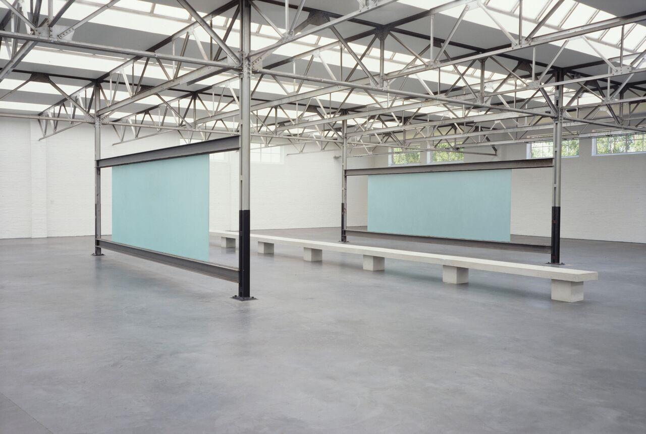 Gerhard Merz, Glas Staal Beton, 1992, collection De Pont Museum FAD Magazine