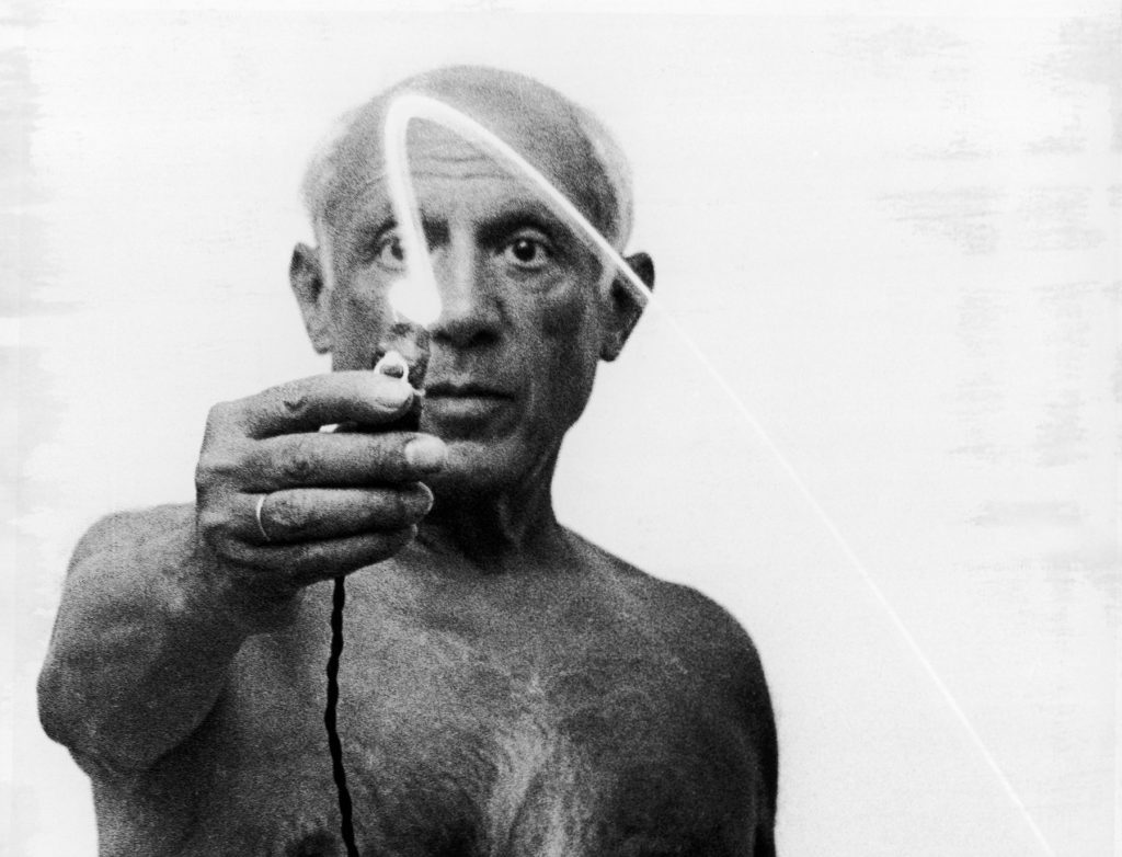 Gjon Mili / The LIFE Picture Collection / via Getty Images © 2019 Estate of Pablo Picasso / Artists Rights Society (ARS), New York