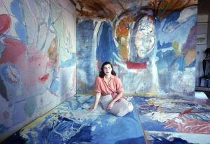 Artist Helen Frankenthaler in 1956. Photo by Gordon Parks/The LIFE Picture Collection/Getty Images. Copyright the Gordon Parks Foundation.