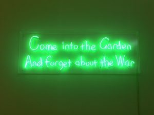 Golden Thread Gallery, Graham Fagen, War-Garden…-Tubby), 2007.