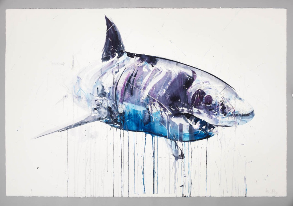 Great White handfinished 50x43in ed 20
