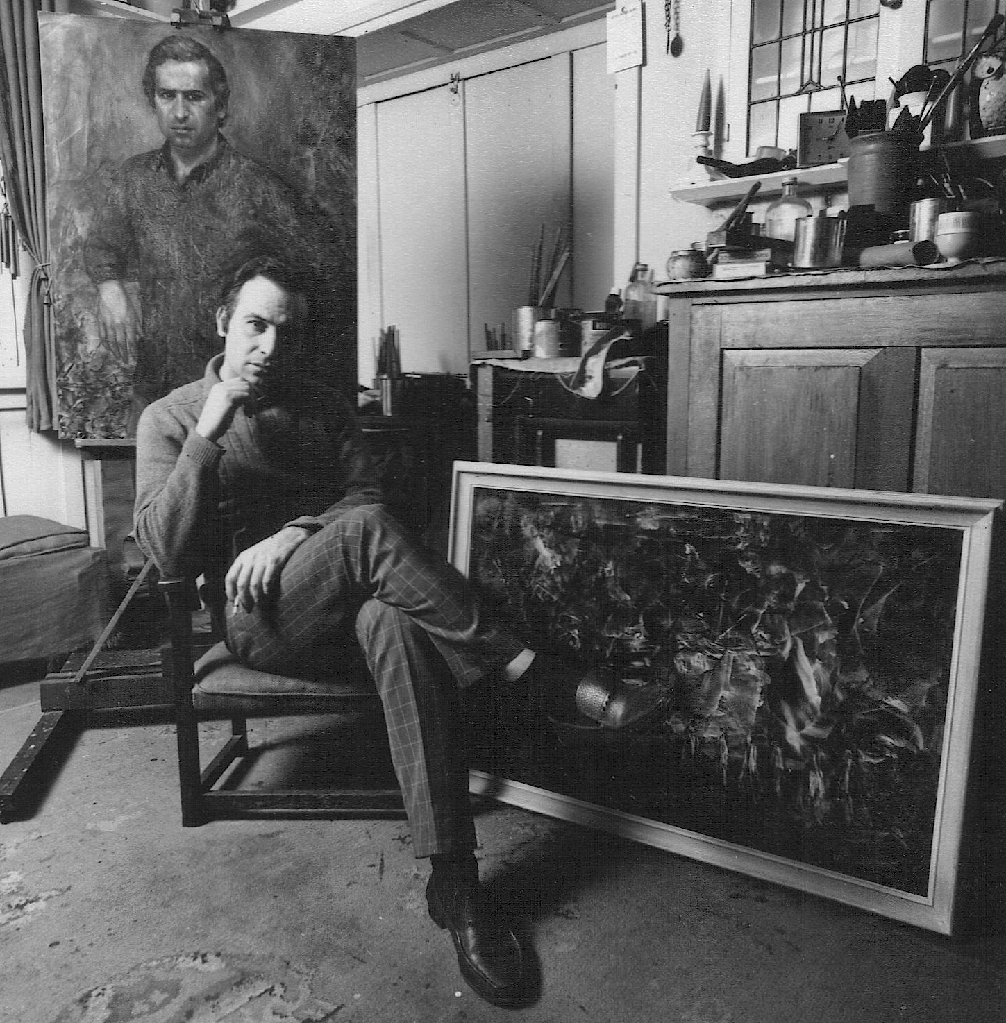 Juan Antonio Guirado in his studio Image Copyright The Guirado Estate FAD Magazine