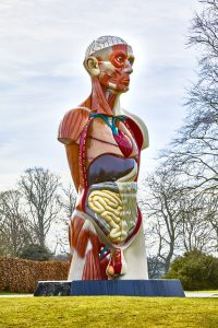 Damien Hirst, Temple, in the Pleasure Grounds at HOUGHTON HALL, NORFOLK ©Damien Hirst and Science Ltd. All Rights Reserved, DACS 2018 Photo by Pete Huggins FAD MAGAZINE
