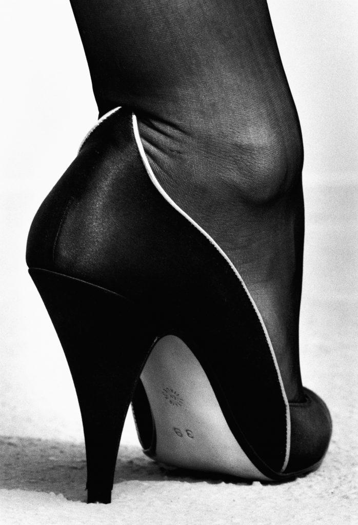 Walter Steiger shoe, Monte Carlo, 1983' © The Helmut Newton Estate/Maconochie FAD MAGAZINE