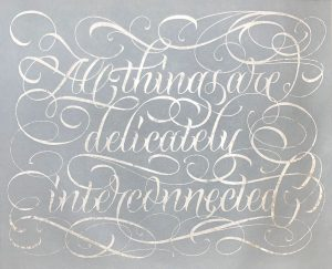 FAD MAGAZINE Jenny Holzer delicately interconnected 2020 Screenprint