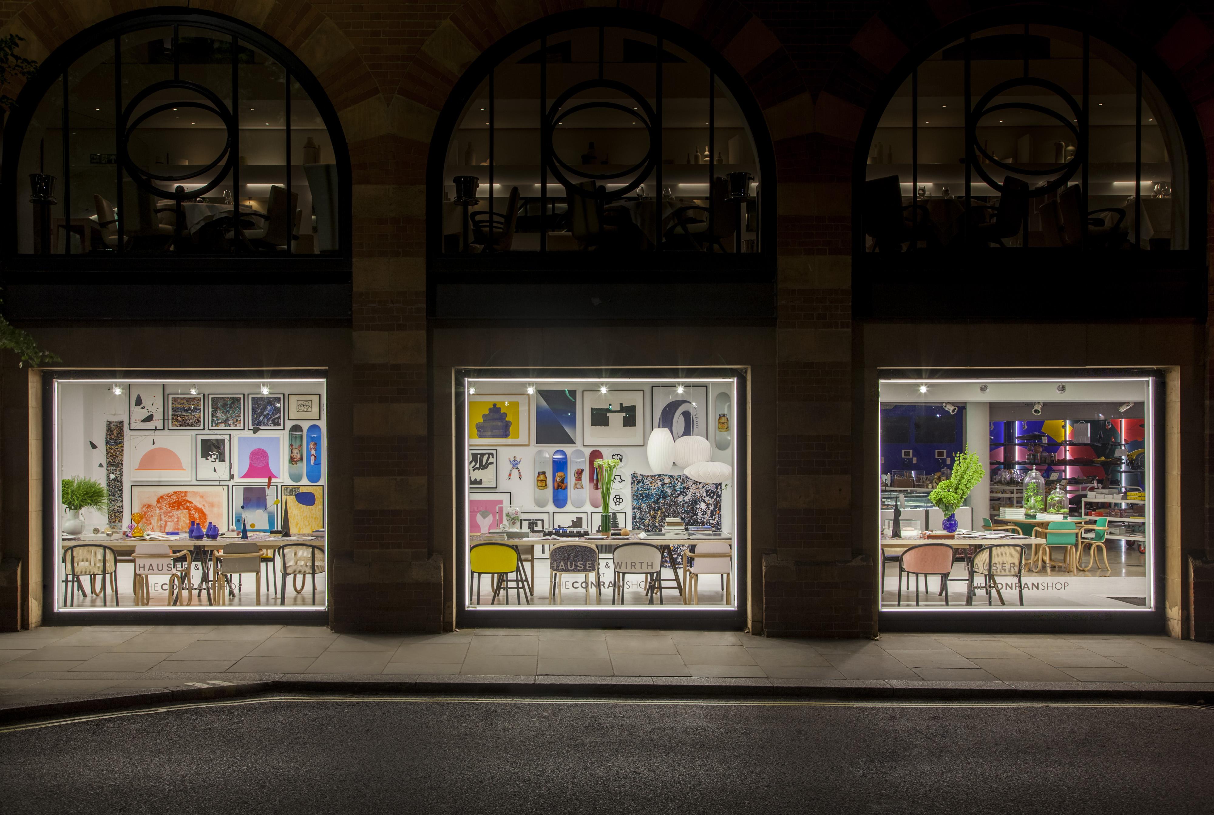Hauser & Wirth collaborate with The Conran Shop for London Design Festival - FAD Magazine