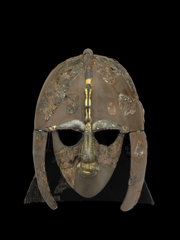 Helmet from Sutton Hoo