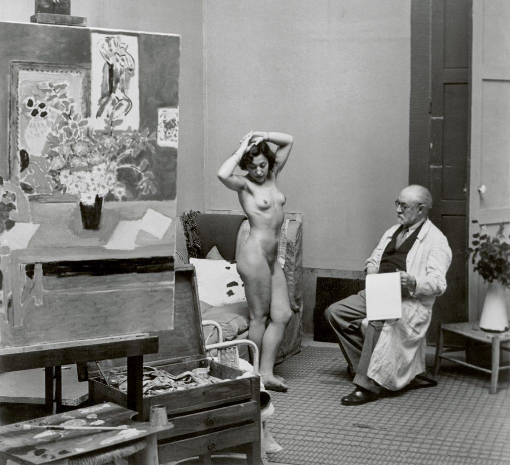Henri Matisse with his Model 1939 C Estate Brassai Succession Paris