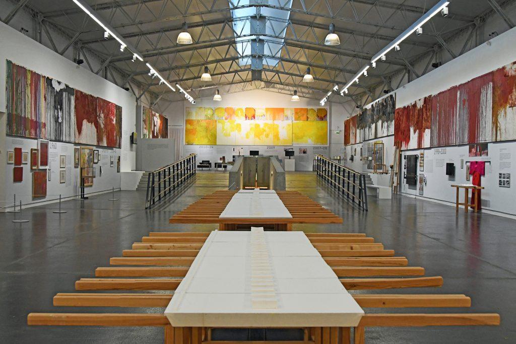 Hermann Nitsch - Leben und Werk (c) nitsch museum Mistelbach 2018