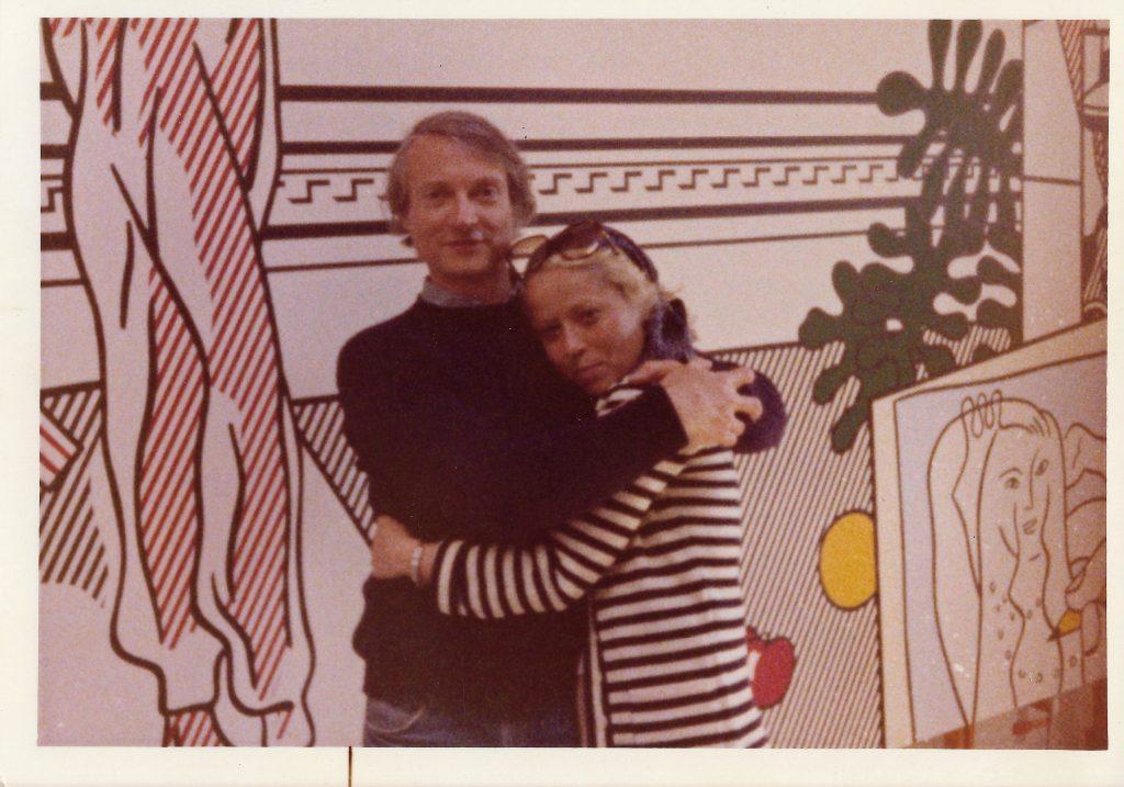 Holly and Roy Lichtenstein