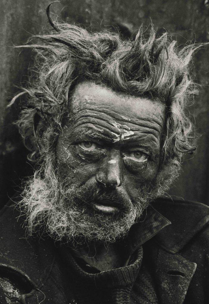 Don McCullin Homeless Irishman, Spitalfields, London 1970 Tate © Don McCullin FAD magazine