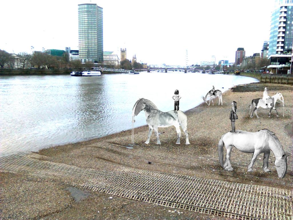Horses-Thames 2