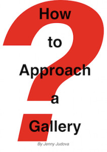 How to approach a gallery book cover 1 copy 2