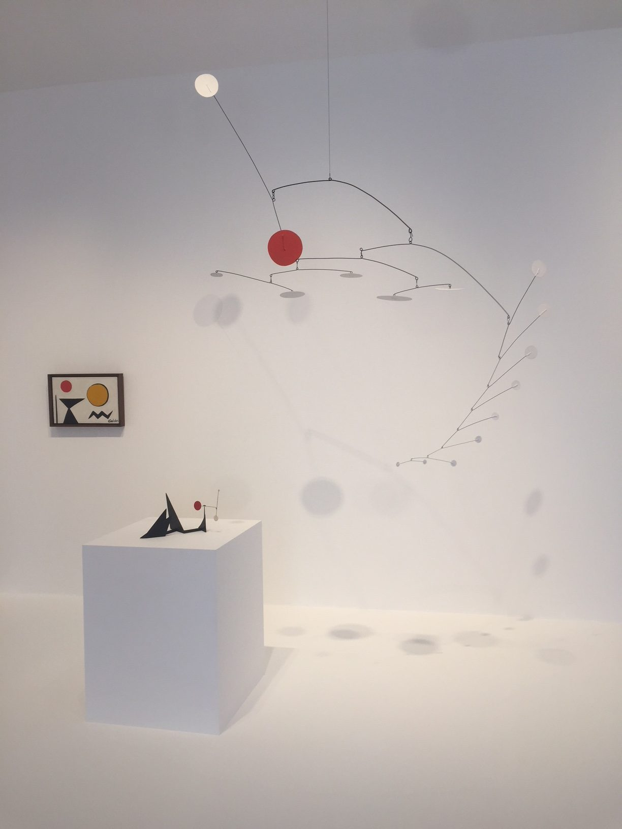 Alexander calder at Hauser & Wirth Somerset  photo Mark westall