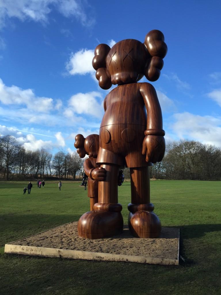 KAWS at Yorkshire Sculpture Park FAD Magazine