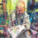 Between Spaces is a solo presentation by multi-disciplinary artist Aaron Bevan Bailey