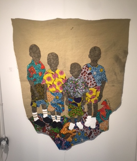 Raphael Adjetey Mayne at Artco London Art Fair