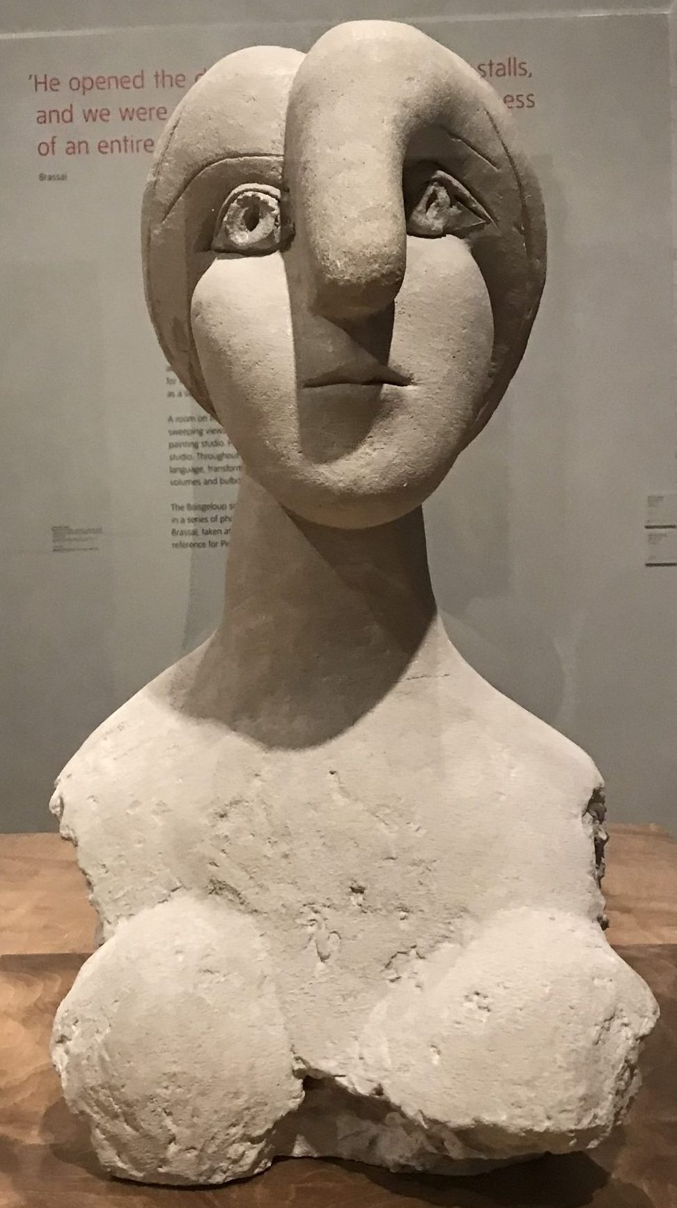 Picasso Bust of a Woman, 1931