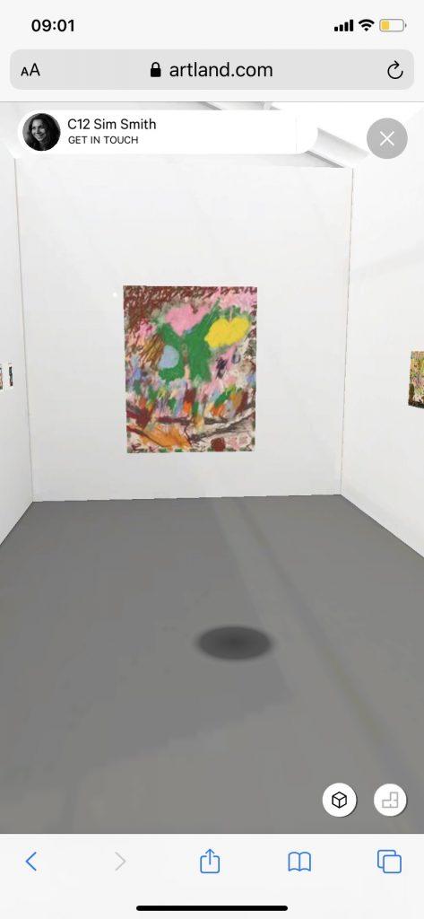 Install Shot Sim Smith at UNTITLED,ART 2020