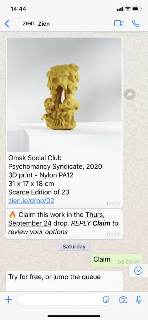 'Psychomancy Syndicate' by Berlin-Based collective OMSK Social Club and curated by Lucy Sollitt