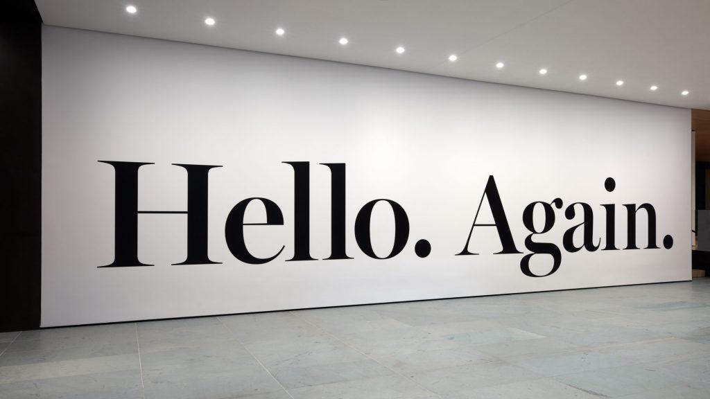 Installation view of hello again (2013) by Haim Steinbach, The Museum of Modern Art, New York. © 2019 The Museum of Modern Art. Photo: Heidi Bohnenkamp