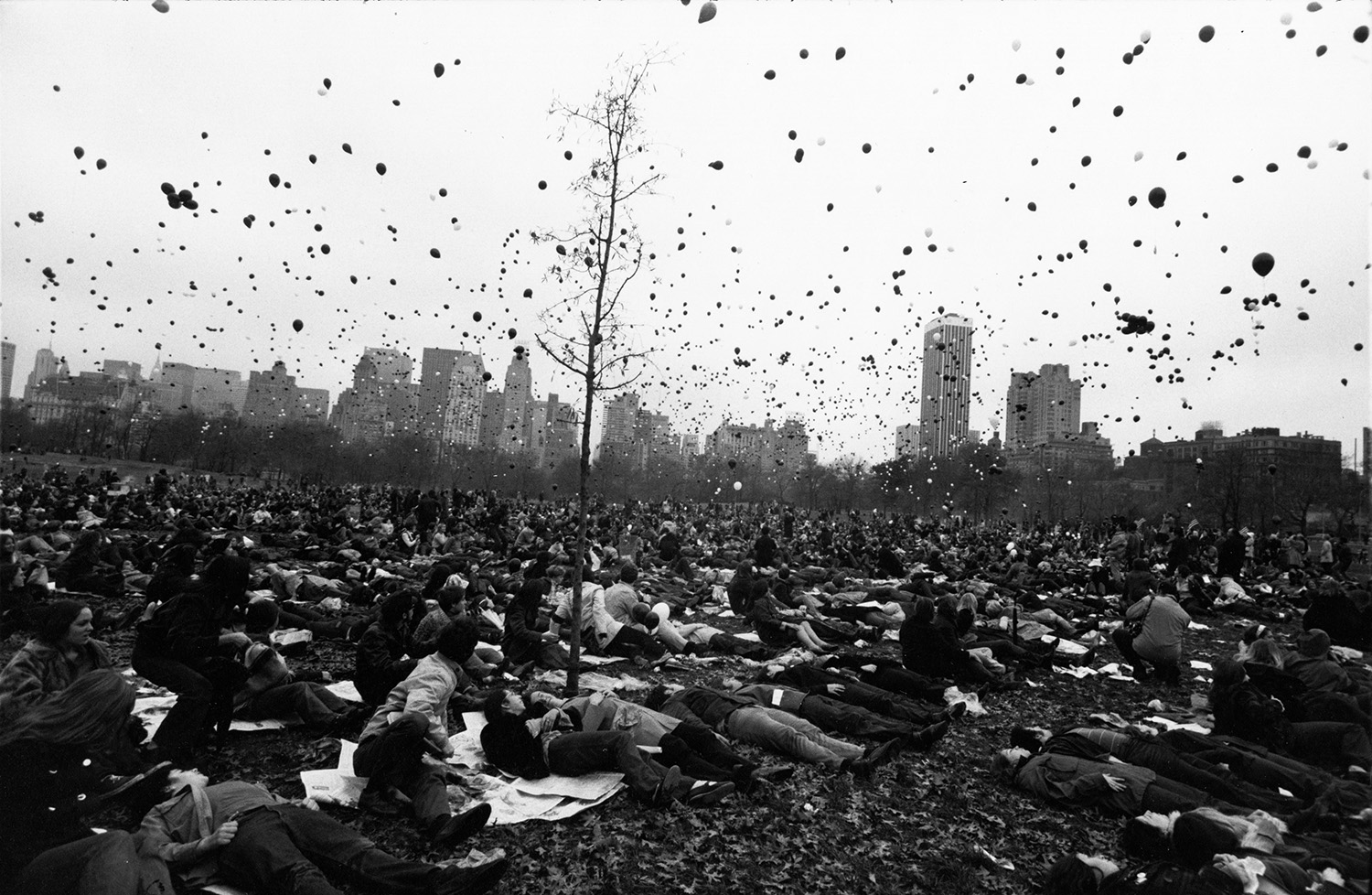 Peace Demonstration, Central Park by Garry Winogrand, 1970 © The Estate of Garry Winogrand