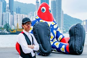 """Lobster Land"" is Philip Colbert's first solo exhibition in Hong Kong."